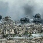 Yarmouk Camp Set on Fire (report)